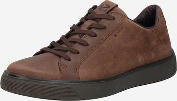 ECCO Sneaker 'Street Tray' in Braun