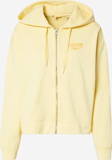 LEVI'S Sweatjacke in gelb, Produktansicht