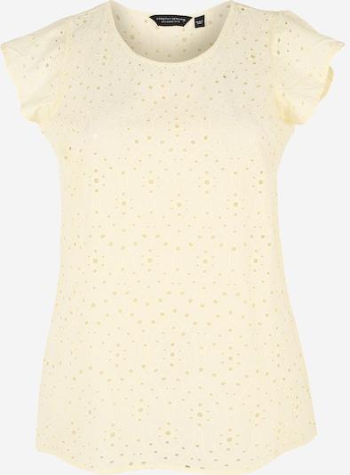 Dorothy Perkins Curve Shirt 'Lemon Broderie' in de kleur Lichtgeel, Productweergave
