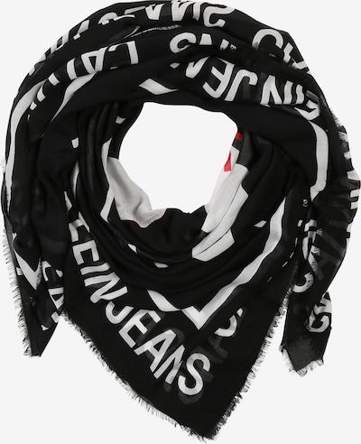 Calvin Klein Jeans Tørklæde 'CKJ FRONT MONOGRAM SCARF W' i sort, Produktvisning