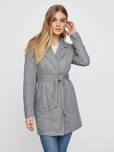 VERO MODA Přechodný kabát - šedý melír, Model/ka