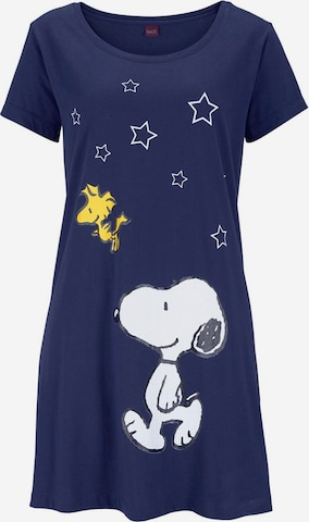 PEANUTS Nightgown in Blue