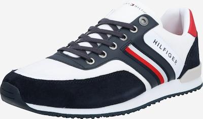 sötétkék / piros / fehér TOMMY HILFIGER Rövid szárú edzőcipők 'ICONIC MATERIAL MIX RUNNER', Termék nézet
