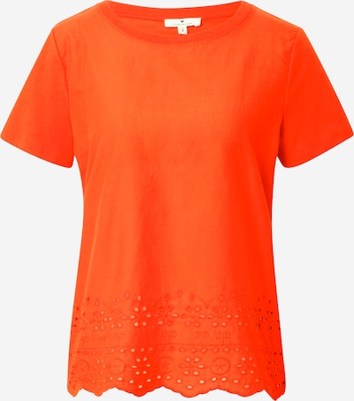 TOM TAILOR T-Shirt in orange, Produktansicht