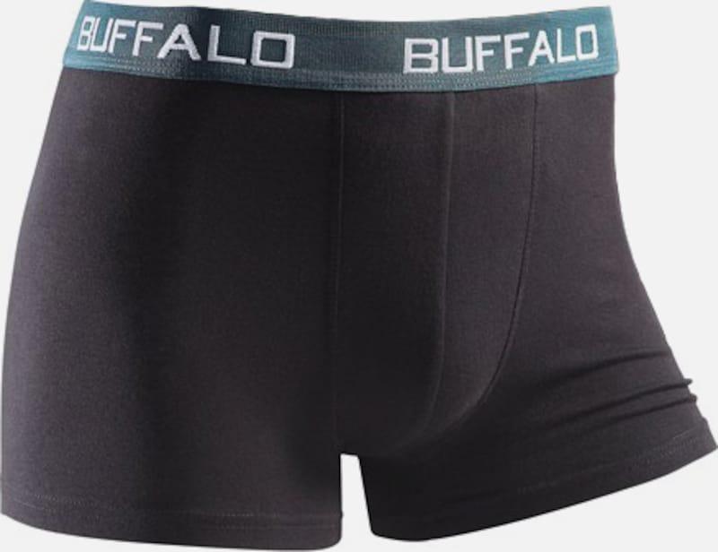 BUFFALO Buffalo Boxer (4 Stück) unifarbene Retro Pants