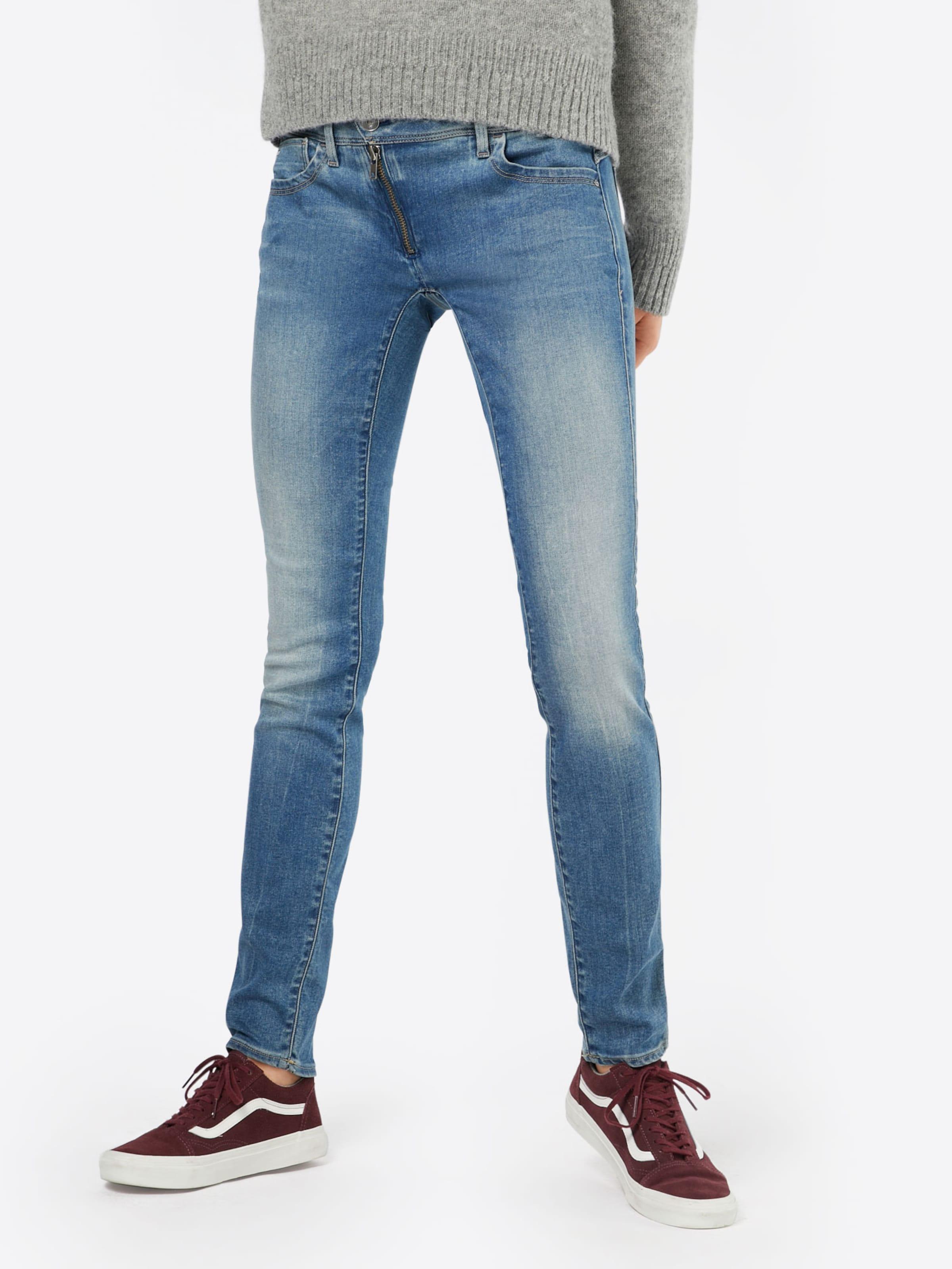 G-STAR RAW Mid Rise Skinny in Used Optik 'Lynn' Billig Verkauf Versand Niedriger Preis Gebühr Die Günstigste Günstig Online Mit Dem Verkauf Kreditkarte Online Rabatt 2018 Neue 100% Authentisch daxaV