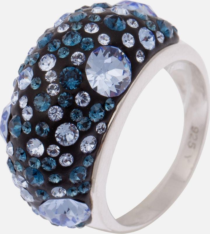 FIRETTI Ring mit Kristallsteinen