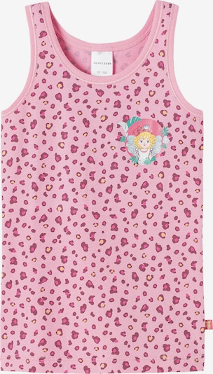 SCHIESSER Unterhemd in gelb / mischfarben / pink / rosa, Produktansicht