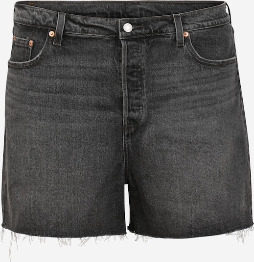 Levi's® Plus Jeans 'PL501 ORIGINAL SHORT' in de kleur Grey denim, Productweergave
