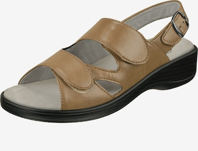 Natural Feet Sandale 'Cornelia' in hellbraun, Produktansicht