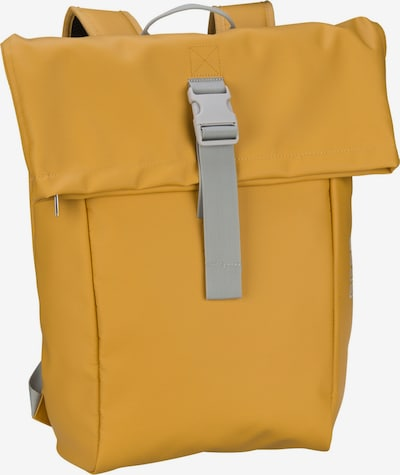 BREE Rucksack 'Punch 93' in senf / grau, Produktansicht