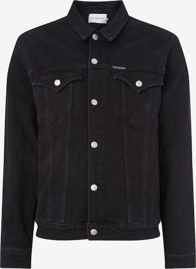 Calvin Klein Jeans Jacke  'FOUNDATION' in black denim, Produktansicht