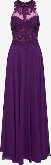mascara Abendkleid 'LACE EMB' in pflaume, Produktansicht