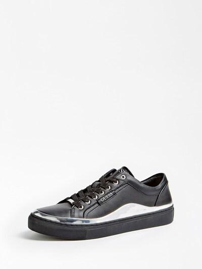 GUESS Sneaker in schwarz / silber, Produktansicht