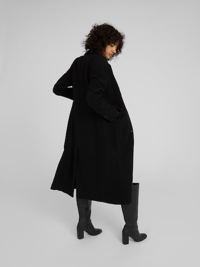 EDITED Manteau mi-saison 'Airin' en noir: Vue de dos