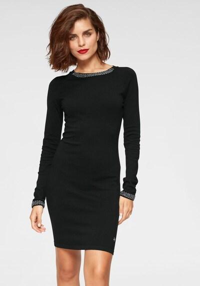 TAMARIS Strickkleid in schwarz, Modelansicht