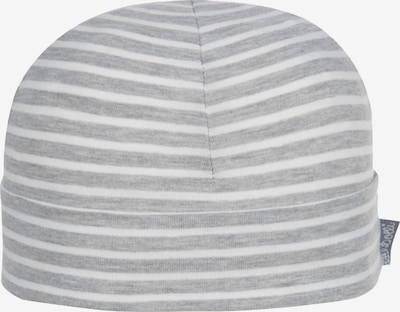 DÖLL Mütze in graumeliert / weiß, Produktansicht
