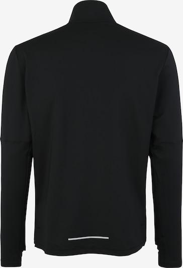 NIKE Sweatshirt in schwarz / weiß: Rückansicht