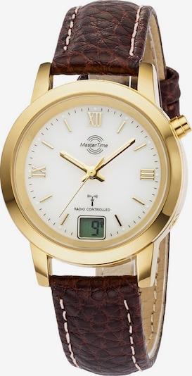 Master Time Uhr 'MTLA-10299-13L' in kastanienbraun / gold, Produktansicht