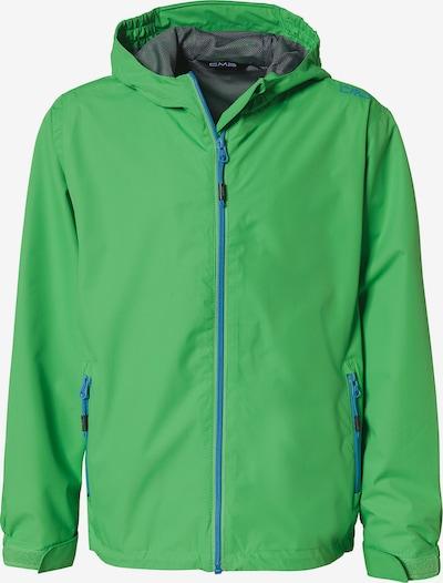 CMP Regenjacken in blau / grün, Produktansicht