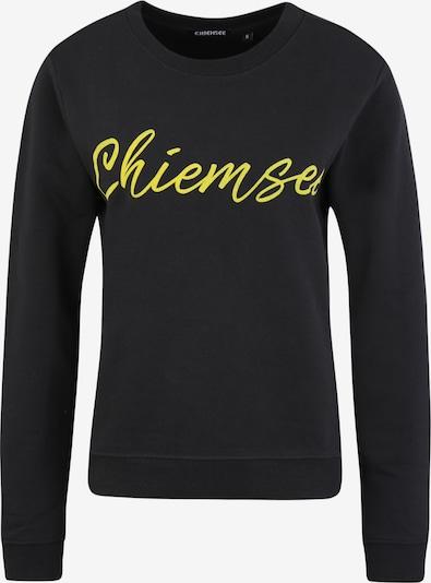 Sportinio tipo megztinis iš CHIEMSEE , spalva - juoda: Vaizdas iš priekio