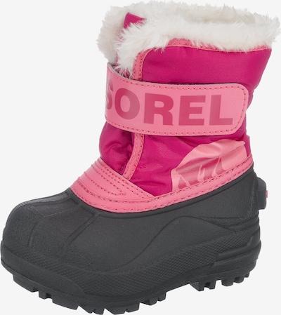 SOREL Winterschuhe in rosa / dunkelpink / schwarz, Produktansicht