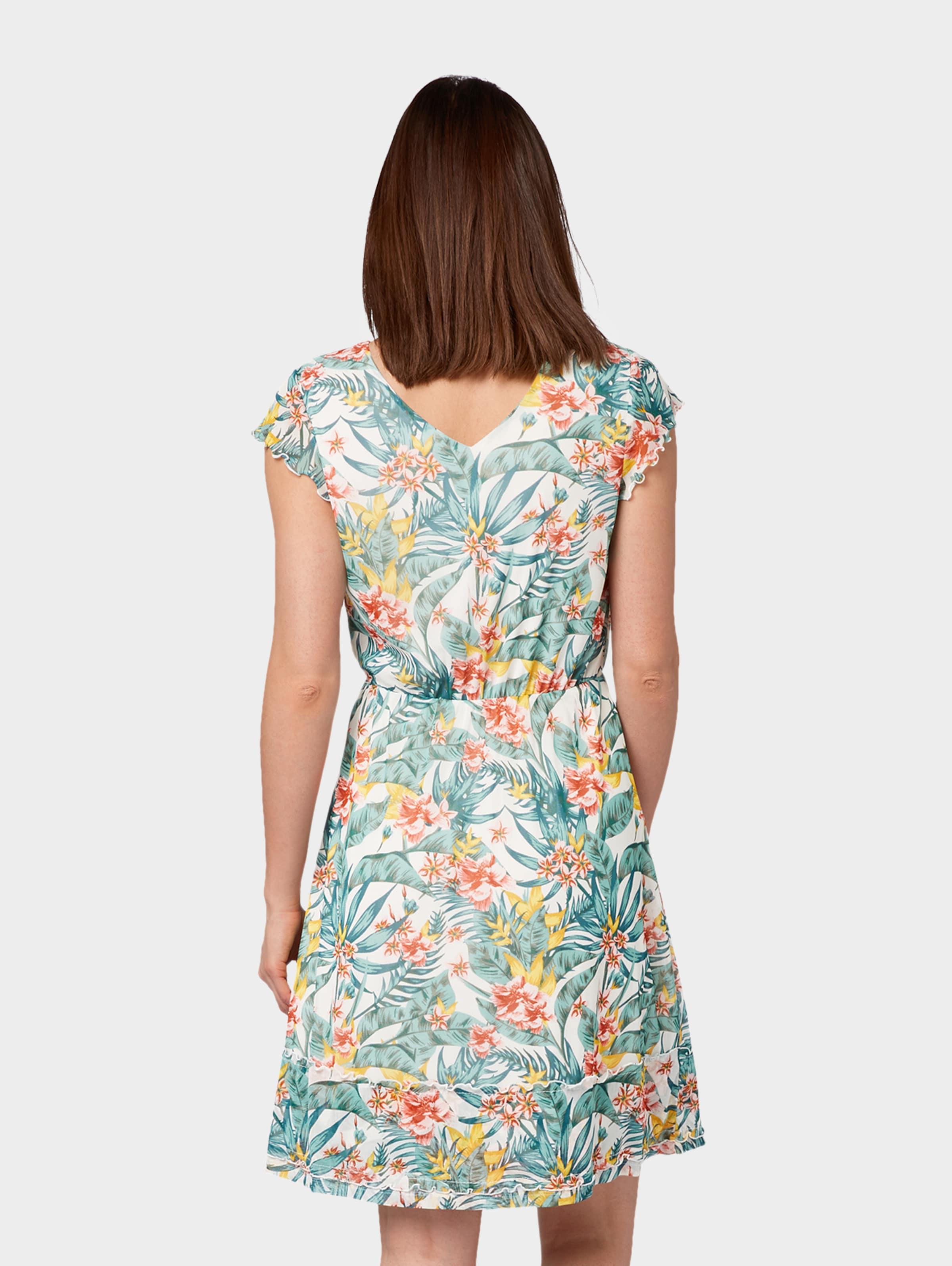 Mischfarben Blumenprint Kleid In Tom Mit Tailor L3j45AR
