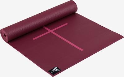 YOGISTAR.COM Yogamatte 'Plus Alignment' in rot, Produktansicht