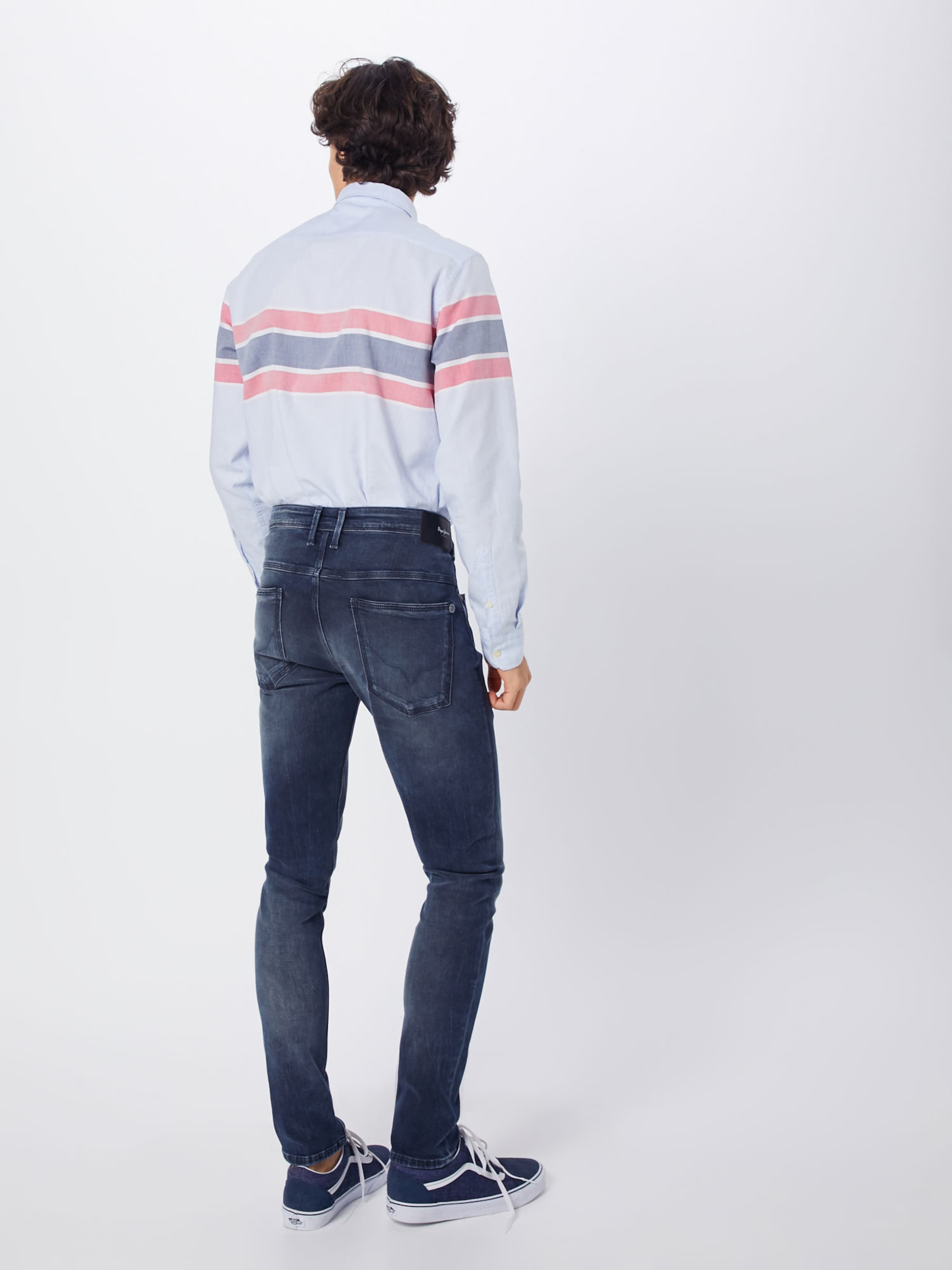 'nickel' Denim Blue In Jeans Pepe E9DIW2H