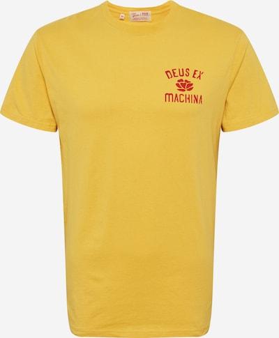 DEUS EX MACHINA T-Shirt en jaune / rouge, Vue avec produit