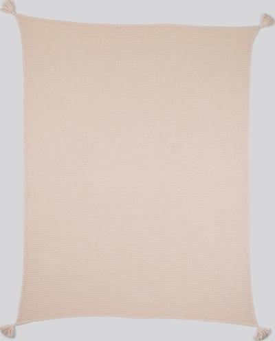 TOM TAILOR Home Decke mit Quasten in rosa, Produktansicht