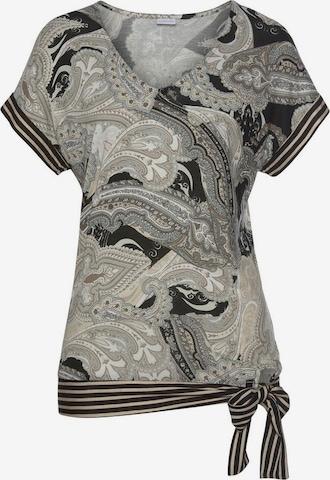 LASCANA Shirt in Grau
