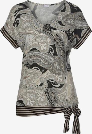 LASCANA Tričko - béžová / svetlobéžová / tmavošedá / čierna, Produkt
