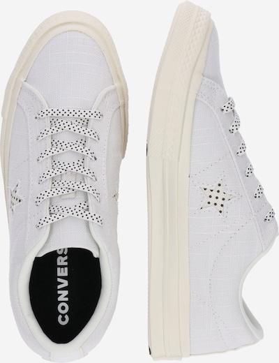 CONVERSE Sneaker 'One Star OX' in weiß: Seitenansicht