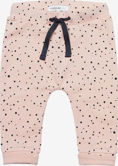 Noppies Stoffhose 'Bobby' in rosa / schwarz, Produktansicht