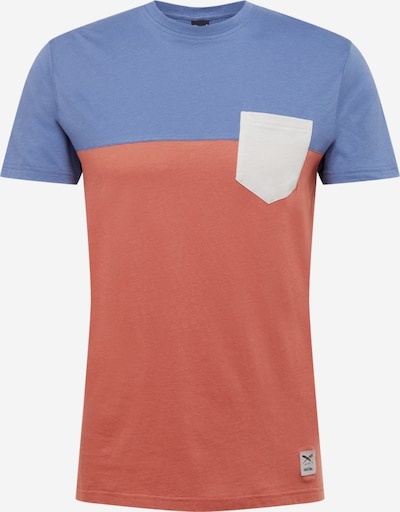 Iriedaily Shirt in de kleur Blauw / Roestbruin, Productweergave