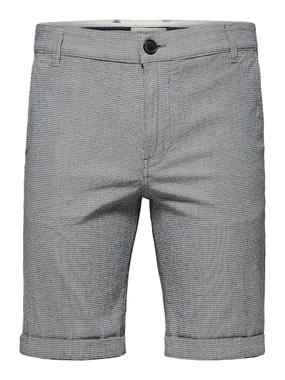 SELECTED HOMME Bio-Baumwolle Shorts in grau, Produktansicht