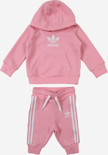 ADIDAS ORIGINALS Jogginganzug in pink / weiß, Produktansicht