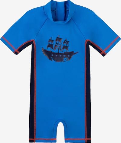 SANETTA Schwimmanzug für Jungen in blau, Produktansicht