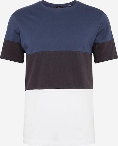 Only & Sons Shirt 'NEWBAILEY' in de kleur Ultramarine blauw / Donkerblauw / Wit, Productweergave