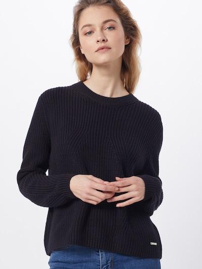 ESPRIT Pullover 'OCS ribstr' in schwarz, Modelansicht