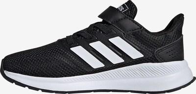 ADIDAS PERFORMANCE Laufschuh 'Run Falcon' in schwarz / weiß, Produktansicht