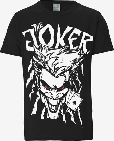 """LOGOSHIRT T-Shirt """"The Joker"""" in schwarz / weiß, Produktansicht"""