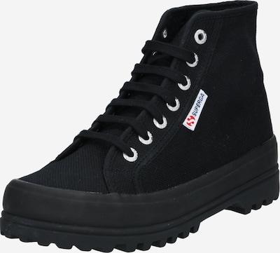 Sneaker înalt 'Cotu' SUPERGA pe negru, Vizualizare produs