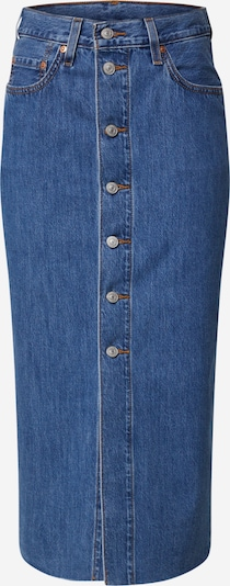 LEVI'S Spódnica 'BUTTON FRONT MIDI SKIRT' w kolorze niebieski denimm, Podgląd produktu