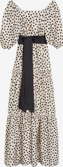 MANGO Šaty - černá / bílý melír, Produkt