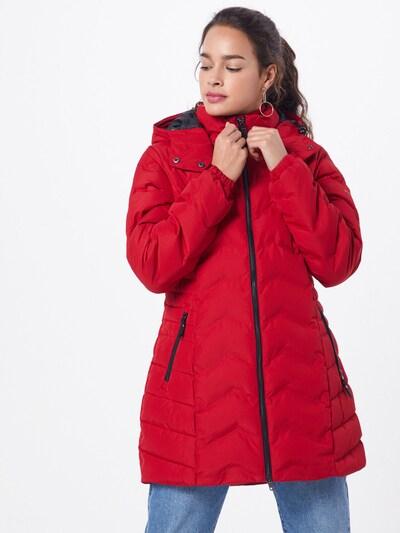 STREET ONE Damen - Jacken & Mäntel 'modern padded coat w. teflon' in grenadine, Modelansicht