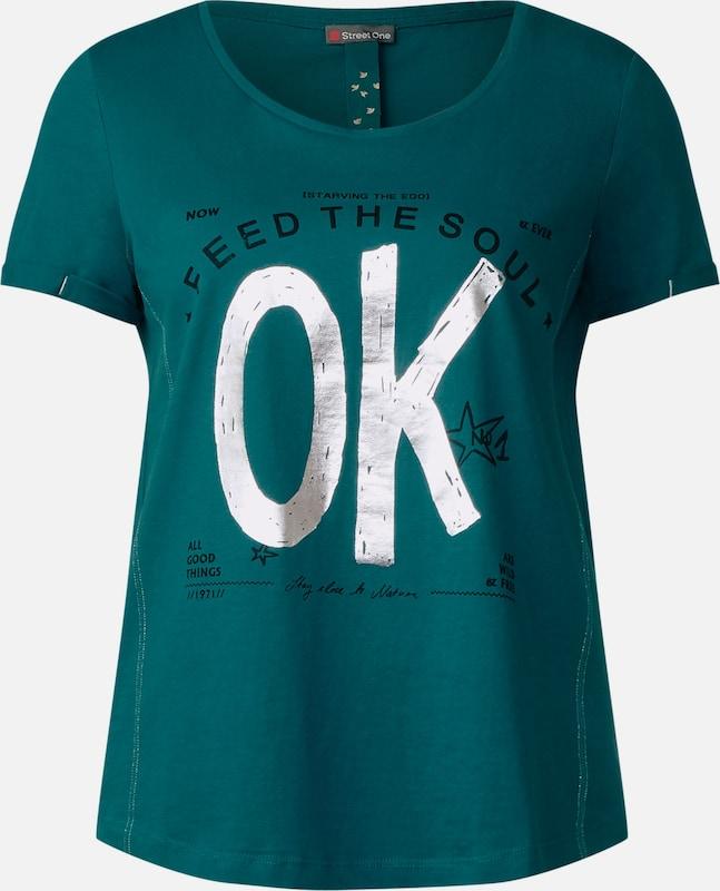 STREET ONE Folien Print Shirt