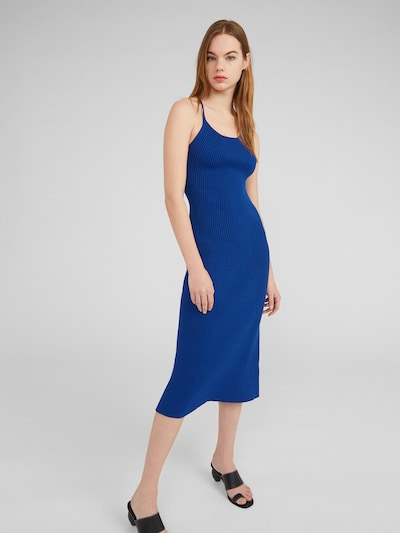 EDITED Kleid 'Cassia' in blau, Modelansicht