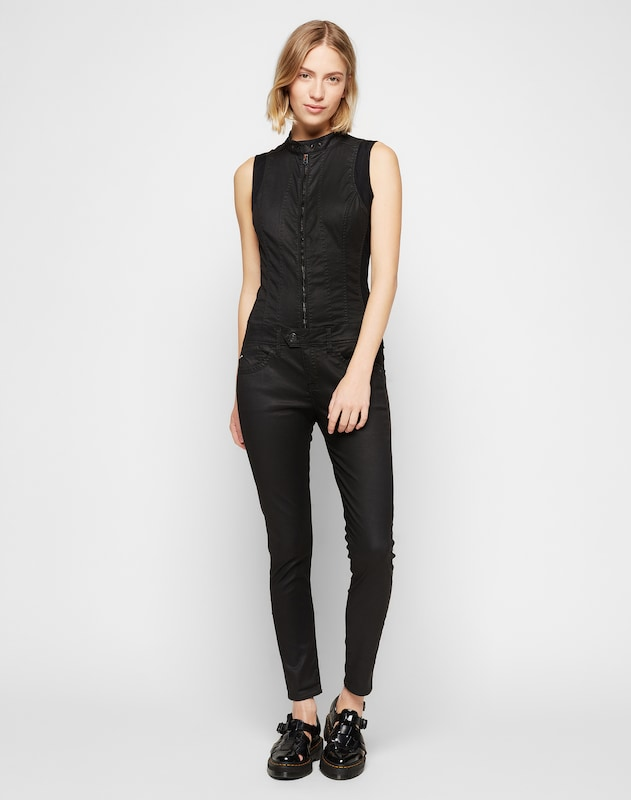 g star raw jumpsuit 39 lynn 39 in zwart about you. Black Bedroom Furniture Sets. Home Design Ideas